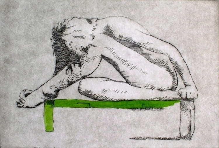 Figurative Intaglio Etching - illustration - edwardlodge | ello