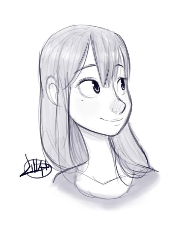Quick warm sketch today - luigil-2352 | ello