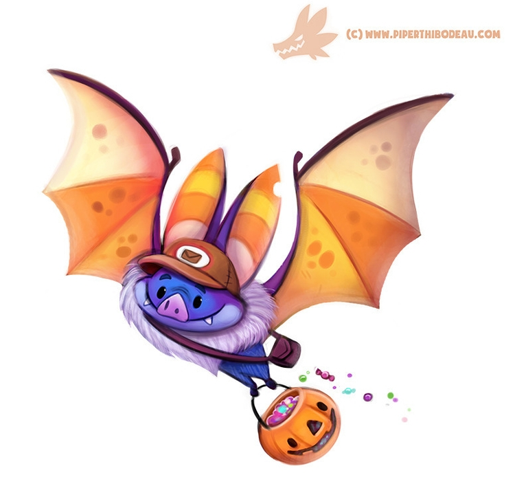 Daily Paint Halloween Delivery  - piperthibodeau | ello