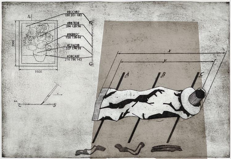 en Van Gogh Dimensions: 100 cm  - jacekmachowski | ello