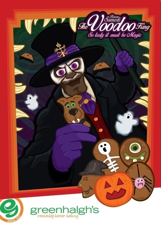Greenhalghs Halloween campaign  - benlatham87 | ello