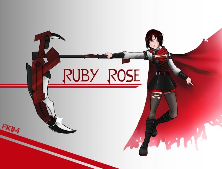 Ruby Rose timeskip - illustration - fkim90   ello