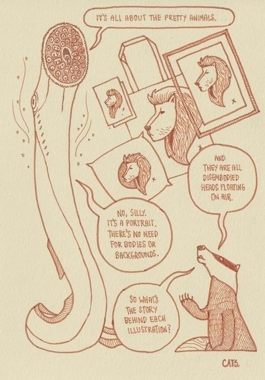 page 6 - brushpen, pittpens, comics - cat-8775 | ello