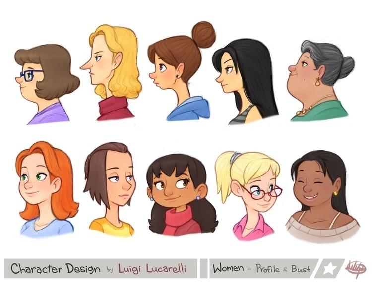busts profiles variety ladies!  - luigil-2352 | ello