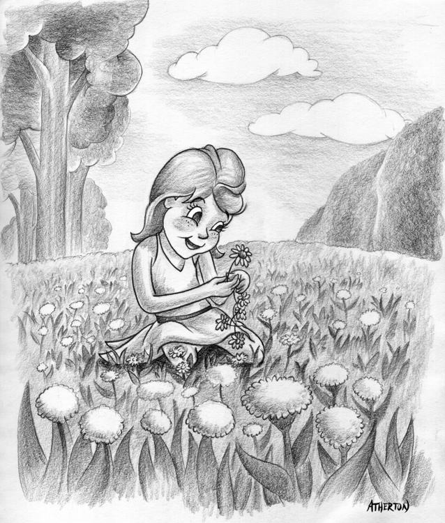 Sketch illustration - characterdesign - jimatherton | ello