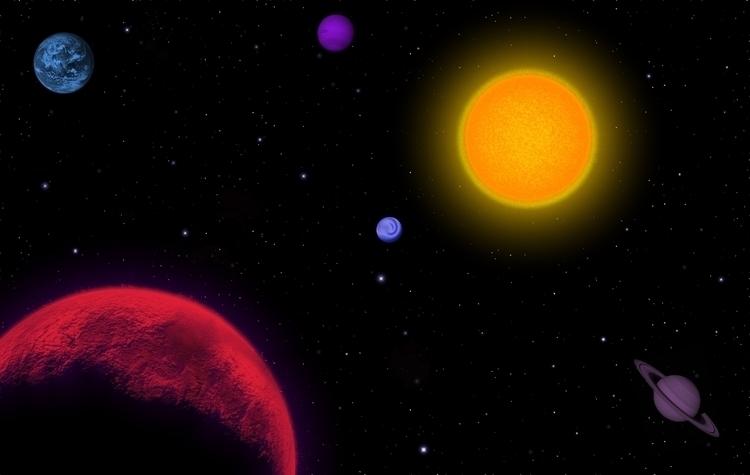 Burning Star - illustration, digitalillustration - ralphcobbs | ello