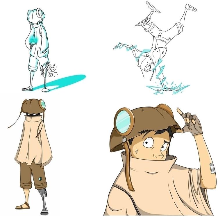 characterdesign, gameart, conceptart - yuppy | ello
