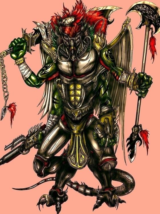 Supreme Borg Reaper - characterdesign - theartofsichiu | ello