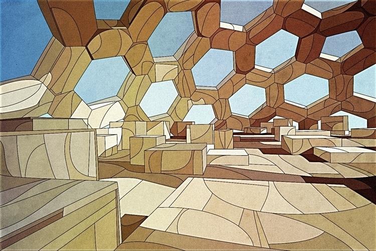 Geometrical - illustration, vectorart - nickolayapraksin | ello