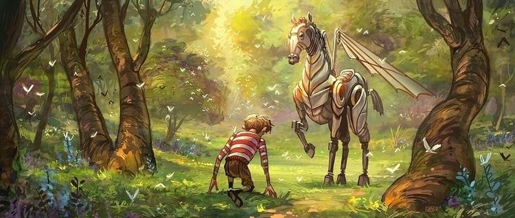 Pegasus - mgaser | ello