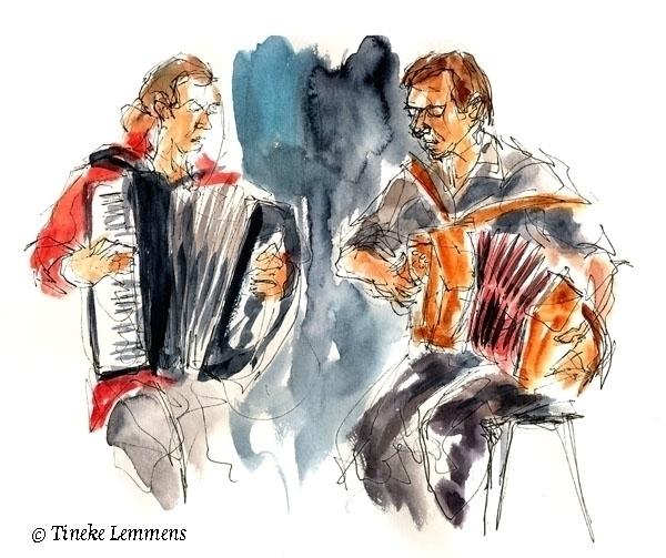 Tuur Florizoone Didier Laloy - musicians - tineke-1461 | ello