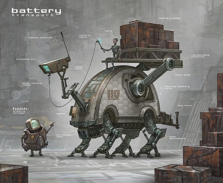 Battery Transport - mgaser | ello