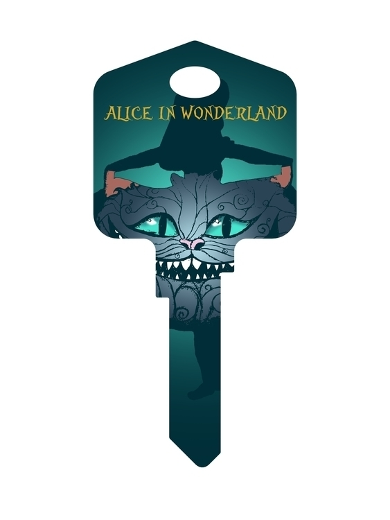 Alice Wonderland key - designsofmp | ello