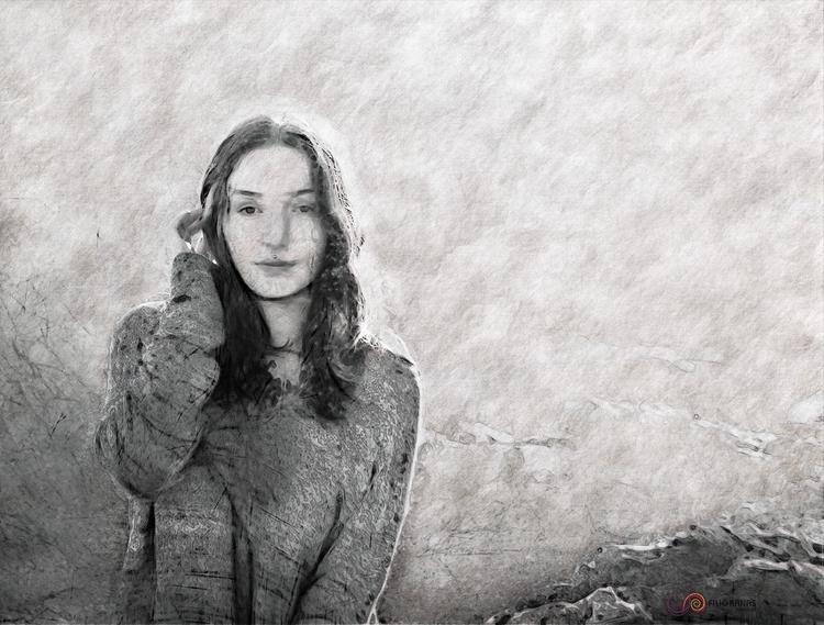 Myra sketch . -Myra Von - Model - filigranasdigitales   ello
