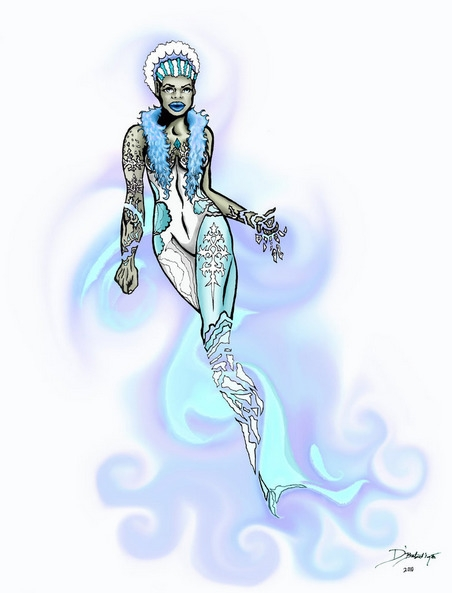Snowflake - Angeline - illustration - dbalentine | ello