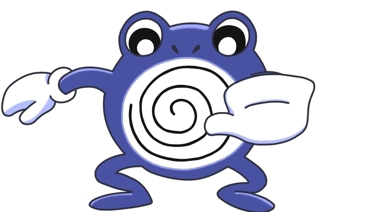 Poliwhirl - Pokemon, pokemonfanart - cslavin | ello