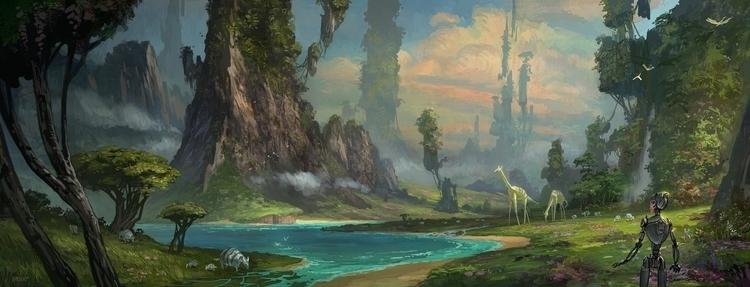 oasis - conceptart - mgaser | ello