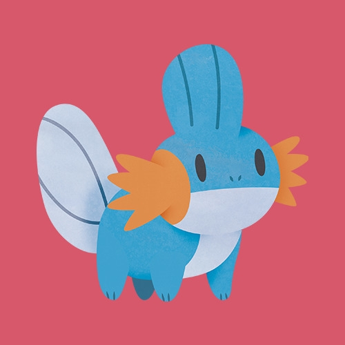 Mudkip - mudkip, pokemon, vector - clairestamper | ello