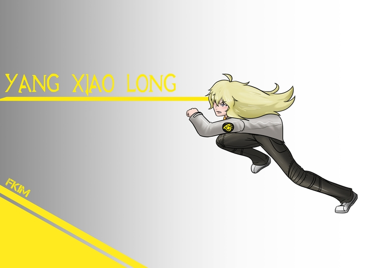 Yang Xiao Long timeskip - illustration - fkim90 | ello
