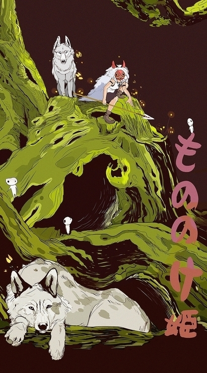 Fan art inspired Princess Monon - katherinehenri | ello