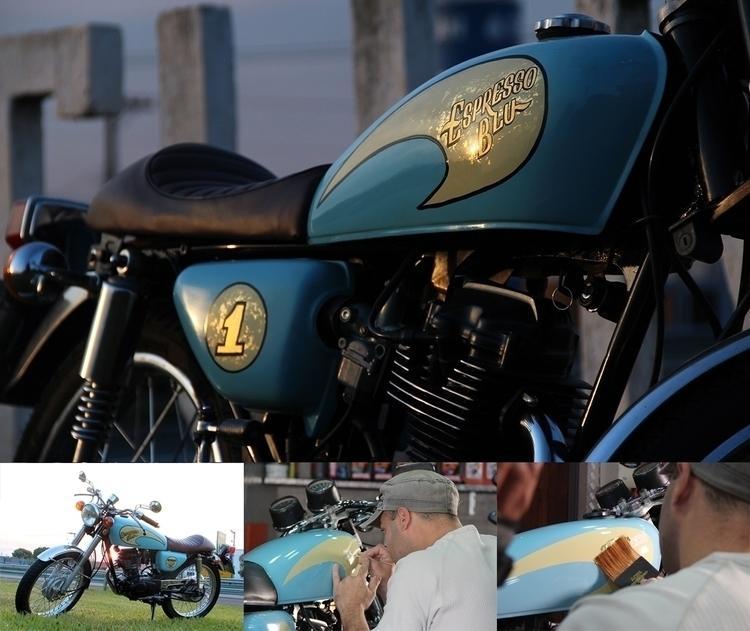 Customized motorcycle gas tank - gibara | ello