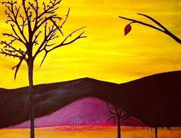 autumn - autumnlandscape, yellow - chonluengo | ello