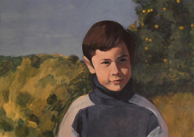 Comission - portrait, painting, acrylicpainting - alecs-1191   ello