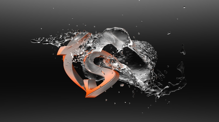 TS Splash - 3d, cinema4d, modo, realflow - tsugar | ello