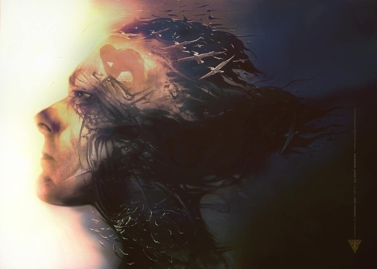 Return heaven - illustration#digitalart#design#characterdesign#photoshop#painting#davisvrworks#drawing#conceptart - bono35   ello