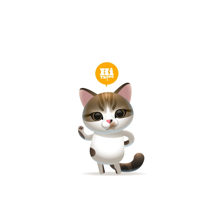 Gumpoong - characterdesign, cat - gugggar | ello