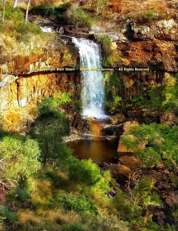 Waterfall Beauty - photography, waterfall - stuartmedia | ello