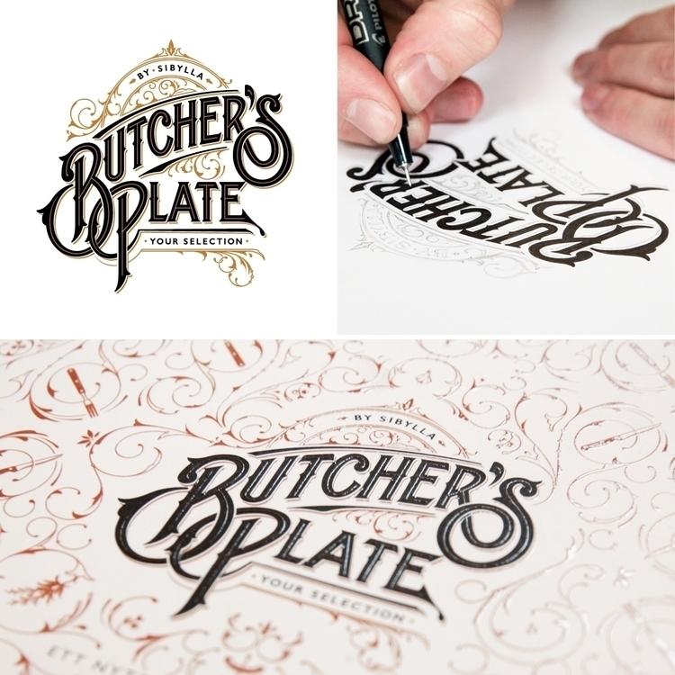 Logotype pattern design Plate S - schmetzer | ello
