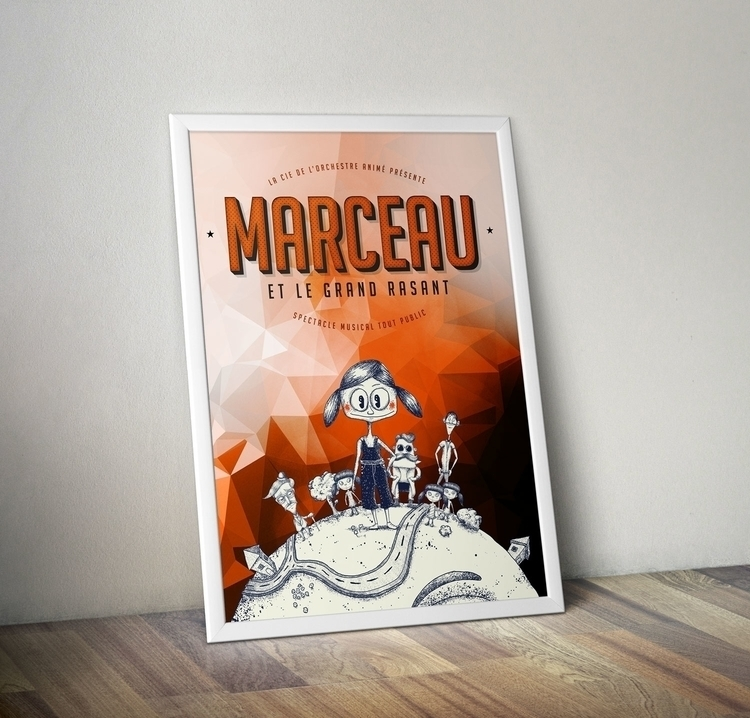 Marceau le Grand Rasant - characterdesign - cochard | ello
