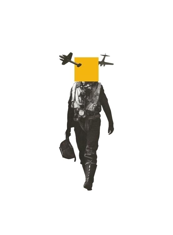 Yellow - design, collage, history - petermarchant | ello
