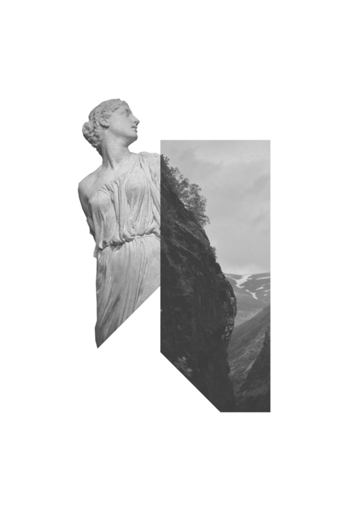 Cape - minimal, collage, statue - petermarchant | ello