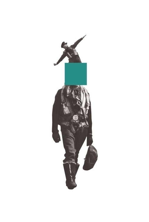 Blue - design, collage, history - petermarchant | ello