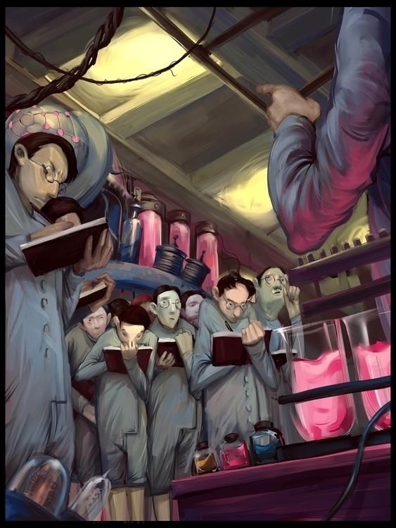 illustrations fiction - editorialillustration - reeozerkos | ello