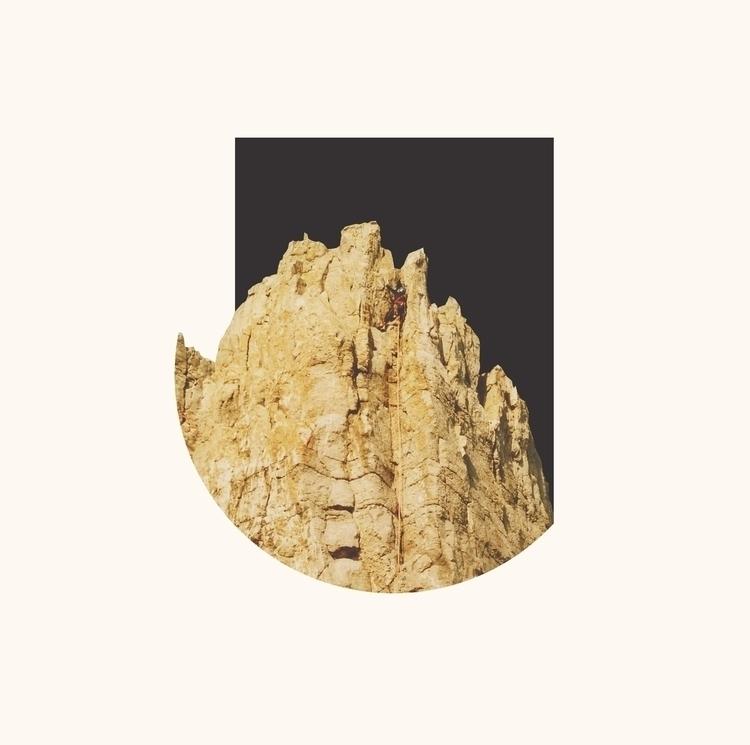 collage, minimal, climbing, print - petermarchant | ello