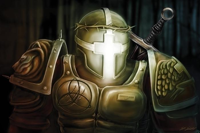 Christ Warrior - Steven Skadal  - stevenskadal | ello