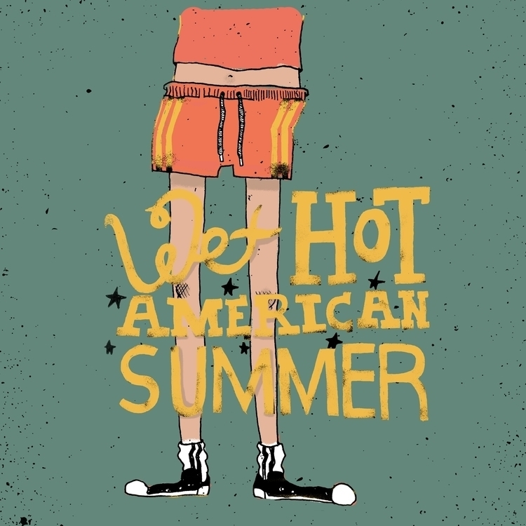 Wet Hot American Summer - illustration - zoso262 | ello