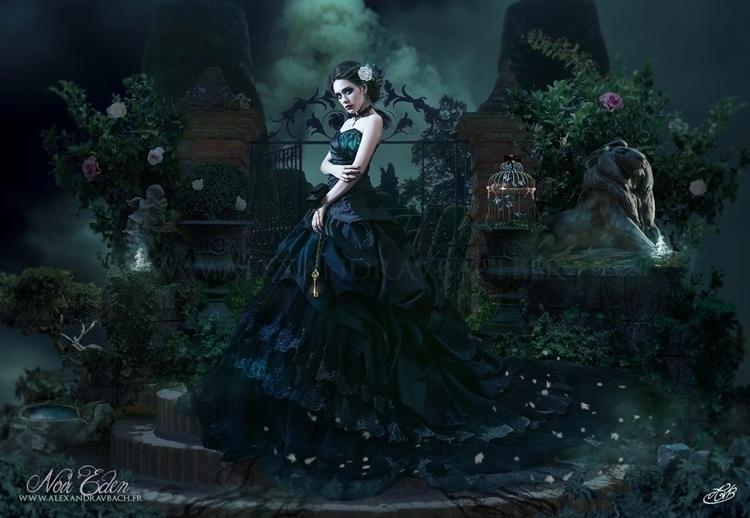 Noir Eden - illustration, gothic - alexandravbach-5892 | ello