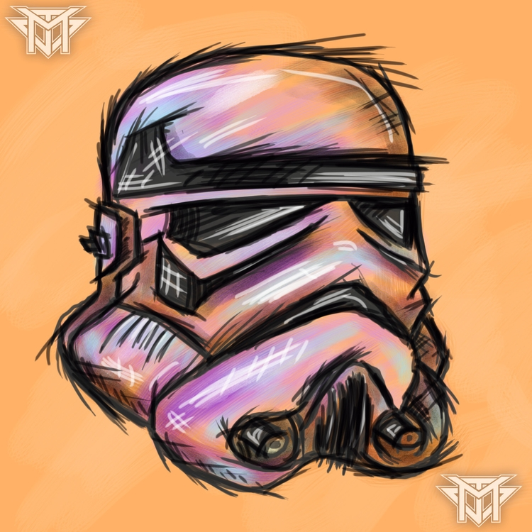 Stormtrooper Design - illustration - j_mcmichael   ello