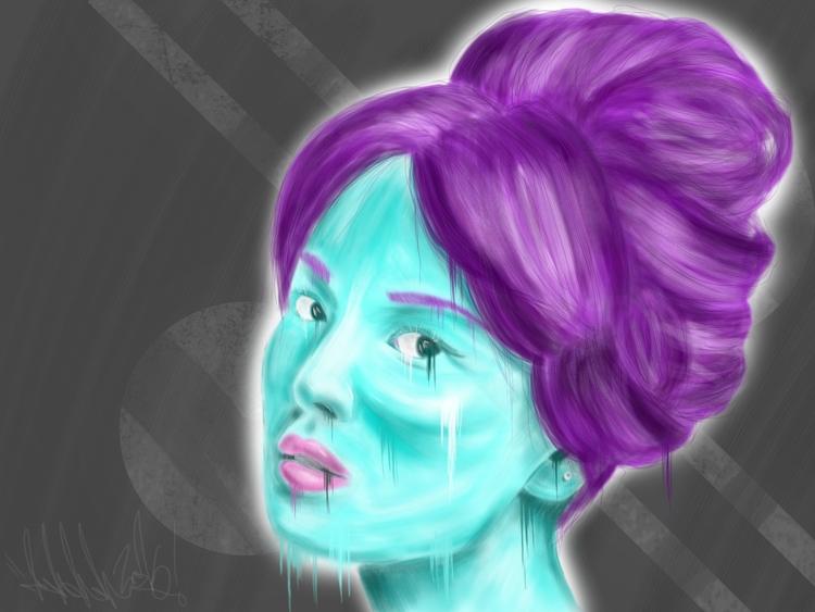 Blue Girl - photo geisha type g - j_mcmichael | ello