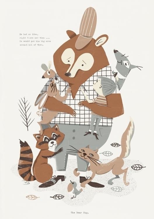 Bear Hug - themotel, bear, animals - johnnykotze-2524 | ello