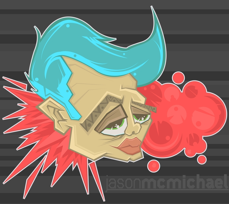 Depro Dude - illustration, illustrator - j_mcmichael | ello