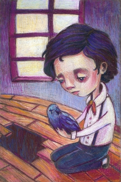Great Loss MacLure - poe, illustration - amaclure | ello