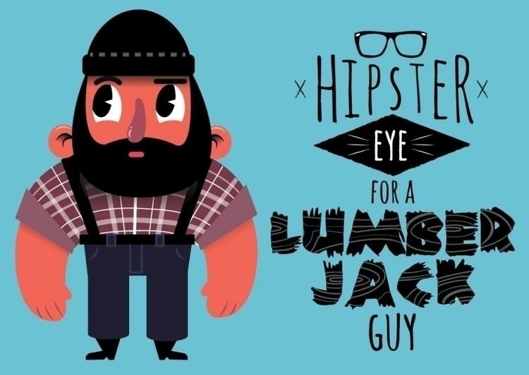 lumber jacks hipsters muscle - #hipster#lumberjack - jamesbevelander | ello