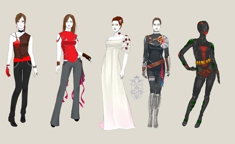 Character Design fRandom Charac - aeme | ello