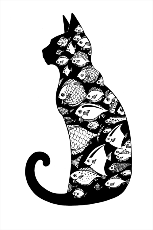Dream - cat, fish, dream - depesha2 | ello