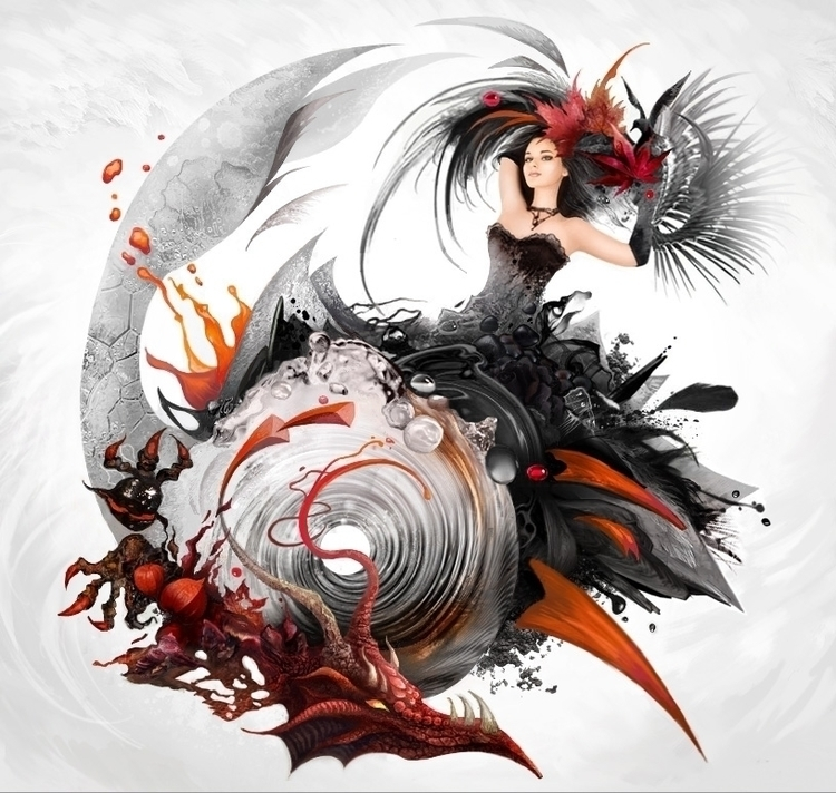 illustration Lyrics Music secti - kseniyalvova | ello